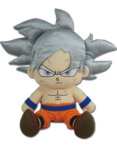 Dragon Ball Super Goku Ultra Instinct 14 Inch Sitting Plush