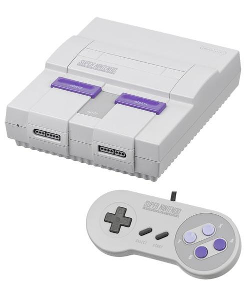 Super Nintendo System Model 1