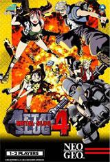 Metal Slug 4 Neo Geo AES