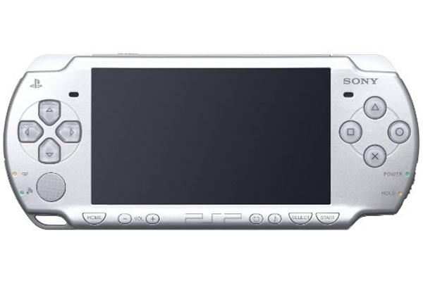 Sony PSP 2000 Slim Ice Silver