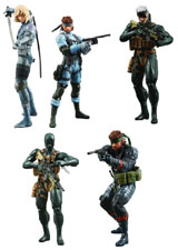 Metal Gear Solid: Ultra Detail 5 Action Figure Set