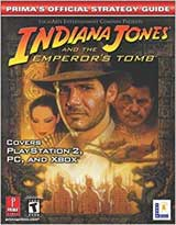 Indiana Jones and the Emperor's Tomb Official Strategy Guide Book
