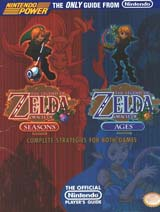 Legend of Zelda Oracle of Seasons and Ages Nintendo Power Guide