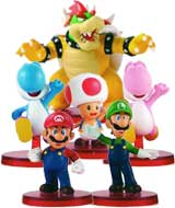 Super Mario Mini Figure Collector 6-Pack