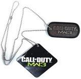 Call of Duty: Modern Warfare 3 Dog Tag Necklace