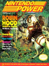 Nintendo Power Volume 26 Robin Hood