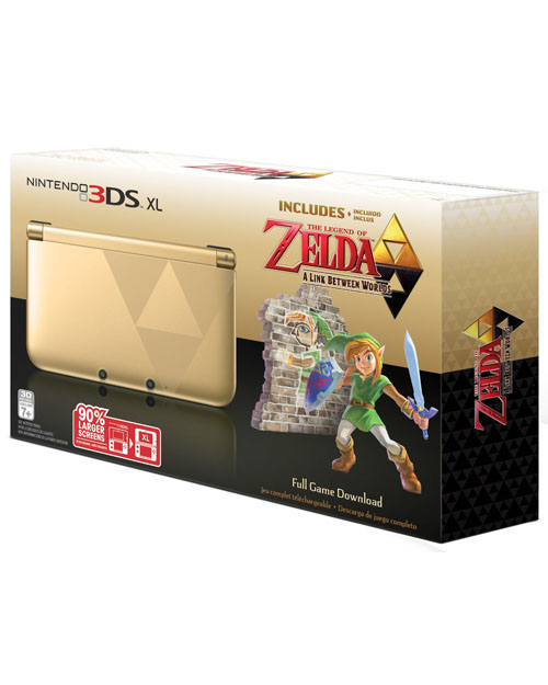 Nintendo 3DS XL Zelda A Link Between Worlds Edition