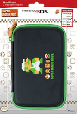 3DS XL Retro Luigi Hard Pouch (Hori)