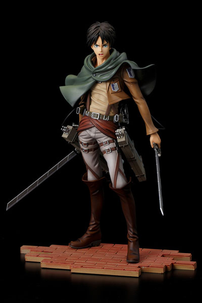 Attack On Titan Eren Yeager Brave-Act 1/8 Scale PVC Figure