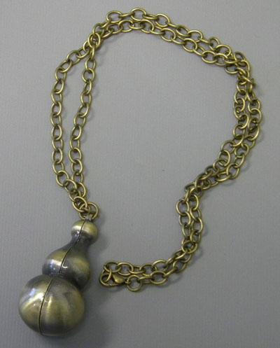 Naruto Gaara Gourd Metal Necklace