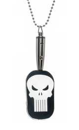 Punisher LED Dog Tag