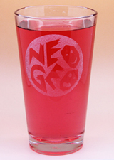 Arts & Crafts: NEOGEO Custom-made 16oz Glass