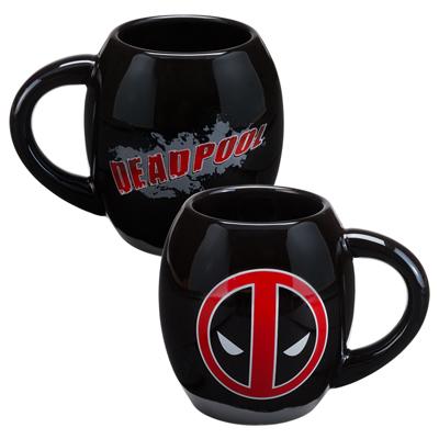 Marvel Deadpool 18oz Ceramic Oval Mug