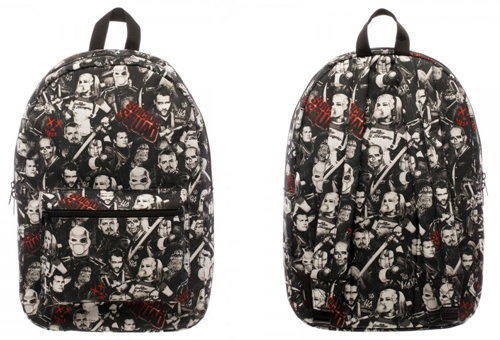 Suicide Squad Character Backpack