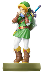 amiibo Link Ocarina of Time Legend of Zelda