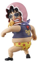 One Piece WCF Fight Senor Pink 2 1/2 Inch Figure