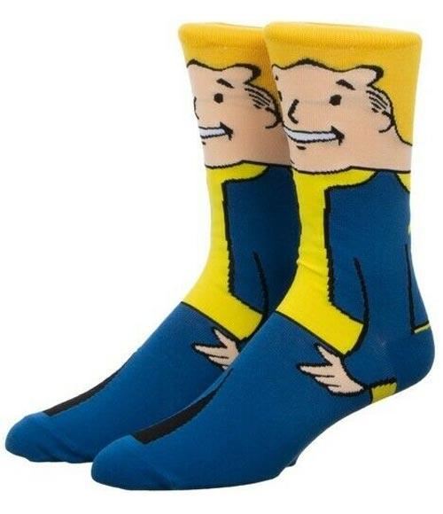 Fallout Vault Boy 360 Character Crew Socks