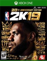 NBA 2K19 20th Anniversary Edition