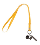 Super Mario PU Embossed Multi-Charmed Lanyard