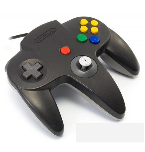 Nintendo 64 Mario Kart Controller Black / Gray