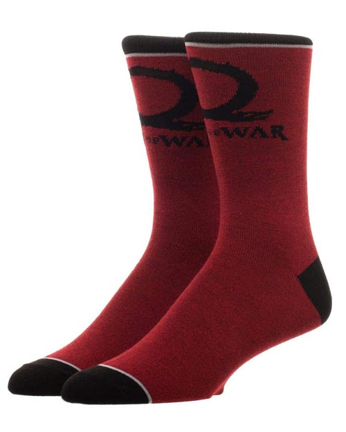 God of War Logo Crew Socks