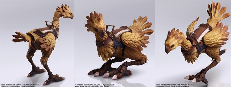 Final Fantasy 11 Chocobo Bring Arts AF extra img