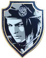 Resident Evil Jill Valentine 25th Anniversary Pin