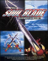 Soul Blade Prima's Unauthorized Strategy Guide