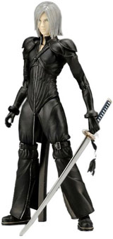 Final Fantasy VII Advent Children Play Arts Volume 2 Kadaj Action Figure