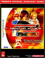 Dead or Alive 2 Official Strategy Guide