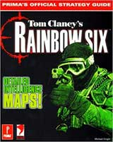 Rainbow Six Official Strategy Guide Book