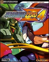 Mega Man Zero 4 Official Strategy Guide Book