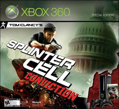 Microsoft Xbox 360 Splinter Cell Conviction Bundle