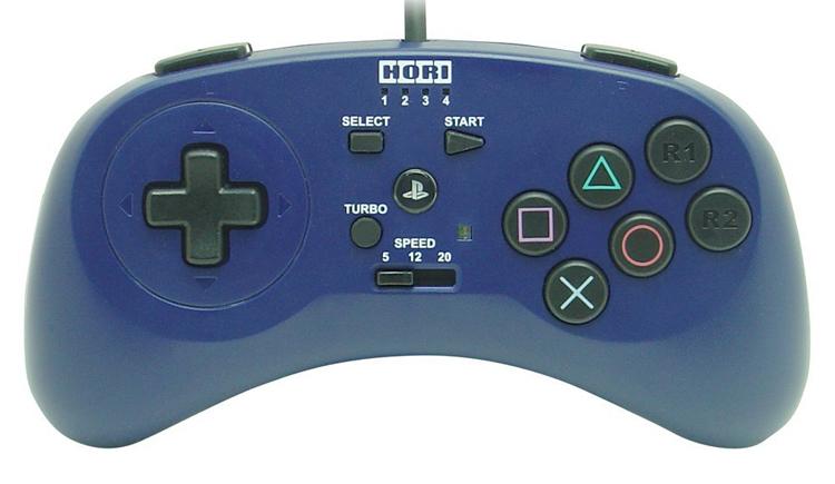 PlayStation 3 Fighting Commander 3 (Blue)