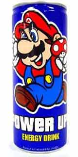 Super Mario Brothers Power Up! Energy Drink