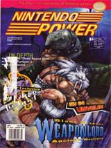 Nintendo Power Magazine Volume 73 Weaponlord