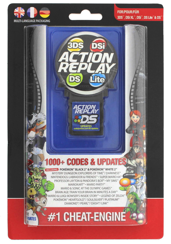 Nintendo DS/DS Lite/DSi/3DS Action Replay