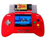 Retro Duo Portable NES/SNES System V2.0 Red