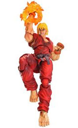 Super Street Fighter IV Play Arts Kai Ken Action Figure