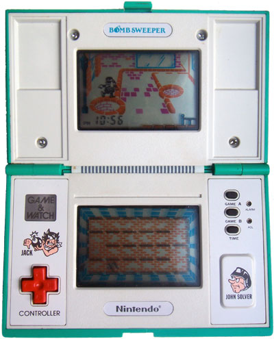 Game & Watch Multi-Screen Series: Bomb Sweeper
