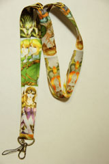 Legend of Zelda Twilight Princess: Zelda Link & Midna Lanyard