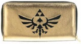 Legend of Zelda: Skyward Sword Zip Around Black/Gold Wallet
