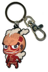 Attack on Titan: SD Colossal Titan PVC Keychain