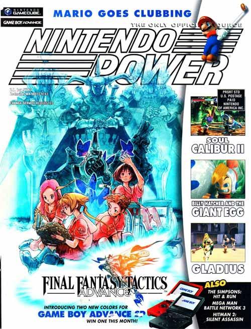 Nintendo Power Volume 171 Final Fantasy Tactics Advance