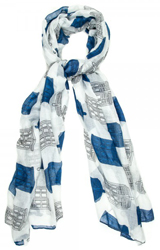 Doctor Who Tardis Viscose Scarf