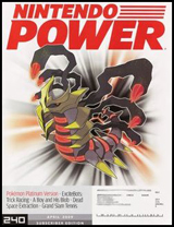 Nintendo Power Volume 240 Pokemon Platinum Version