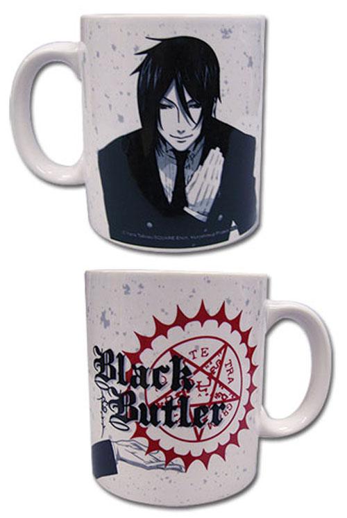 Black Butler Sebastian White Mug