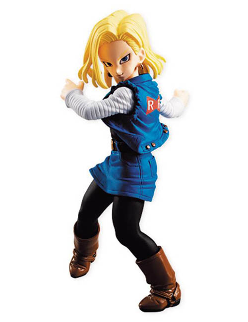 Dragon Ball Z Android 18 Styling Figure