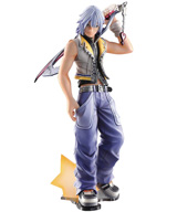 Kingdom Hearts II Static Arts Riku Gallery Statuette
