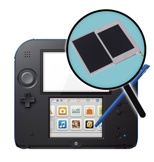 2DS Repairs: LCD Screen Replacement Service